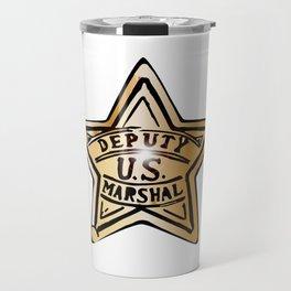 Deputy US Marshal Star Travel Mug