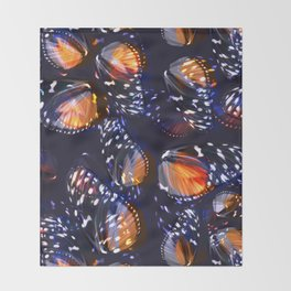 Abstract Butterfly Pattern #2 Throw Blanket