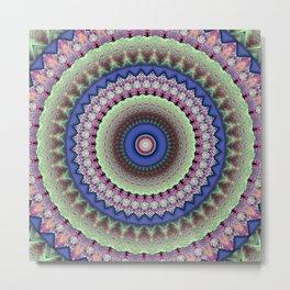 Girly Mandala Metal Print