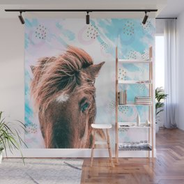 Horse horseshoes Wall Mural