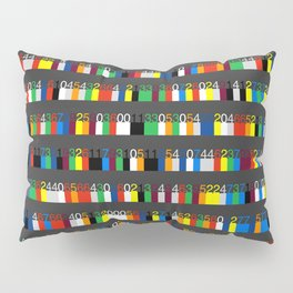 Color by Number: Pi Pillow Sham