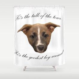 kaleb Shower Curtain
