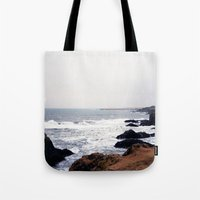 iceland Tote Bags featuring Iceland by Ninja Reith