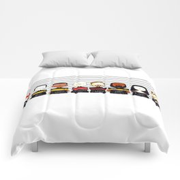 ST: TNG Police Lineup Comforters
