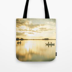 Ghosts on a Boat Tote Bag