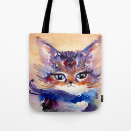 Lionmew Embarks on a Grand Adventure Tote Bag