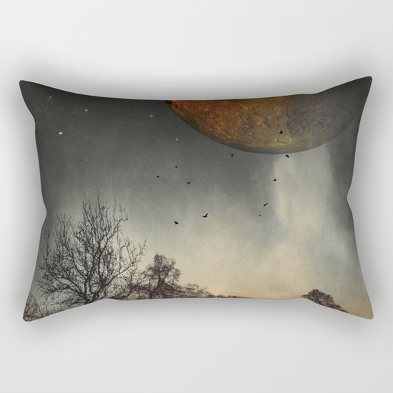 when the mOOn was young Rectangular Pillow