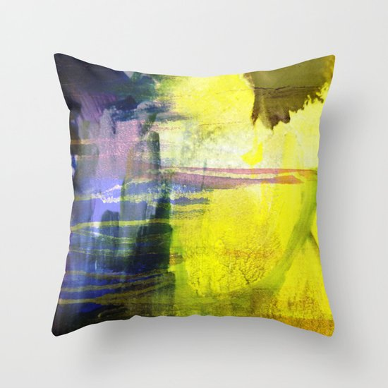 Melted In Throw Pillow