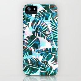 Lani Kai Leaf Green iPhone Case