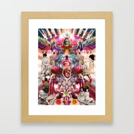 Intergalactic Orgasm Framed Art Print