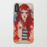 pirate iPhone & iPod Cases featuring Pirate by Minasmoke