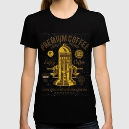 Classic Coffee Maker - Locally Brewed T-shirt