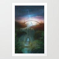 The Muhe Ca view Art Print