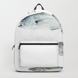 New England Fish Trio Backpack
