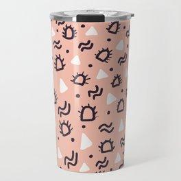 MARFA, desert pattern Travel Mug