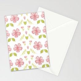 Beautiful Fashion Flower Pattern Art Stationery Cards