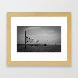 Hermosa Beach Dayz Framed Art Print