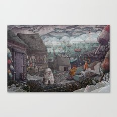 Home for the Harbor Canvas Print