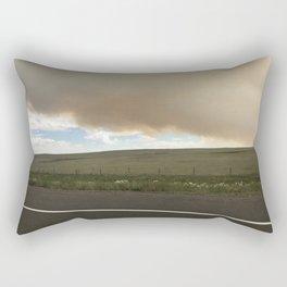 I-25 Storm Rectangular Pillow