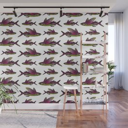 Flying Fish Wall Mural