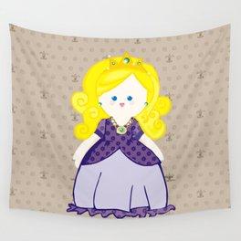 Blonde Princess Wall Tapestry
