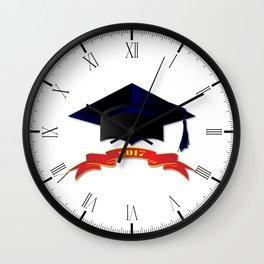 Cap Class Of 2017 Wall Clock