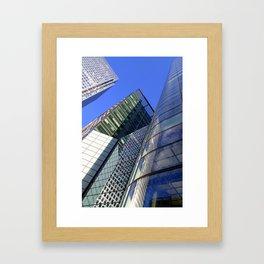 Canary Wharf Framed Art Print