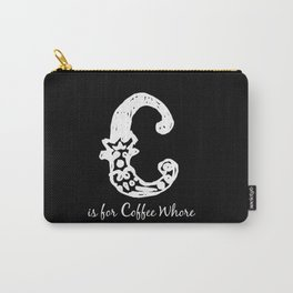 In Black - C is for... Carry-All Pouch