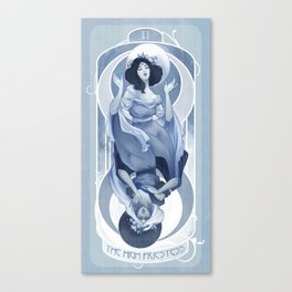 The High Priestess Canvas Print