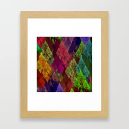 Conifers Framed Art Print