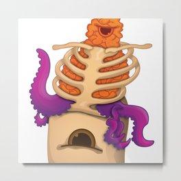 Monsters - My Brains Metal Print