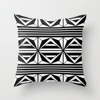 prism Throw Pillows featuring Prism by MANYOUFACTURE