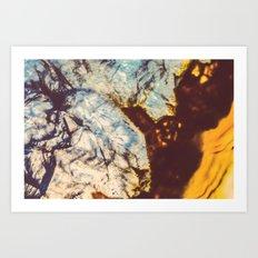 Agate, Earth frozen in time Art Print