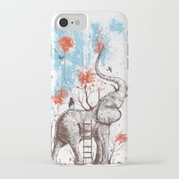 sun iPhone & iPod Cases featuring A Happy Place by Norman Duenas