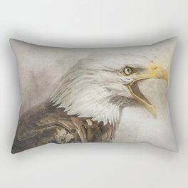 The Eagles Call Rectangular Pillow
