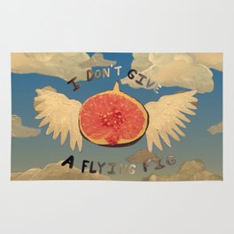 I don't give a flying fig Rug