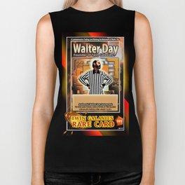 Walter Day card (rare) Biker Tank