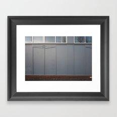 Surface Tension: Beith Street Framed Art Print
