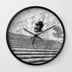 Fingerprint - Stairway Wall Clock