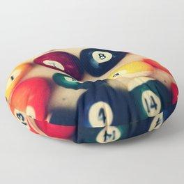 TTV Pool Balls Photography Floor Pillow