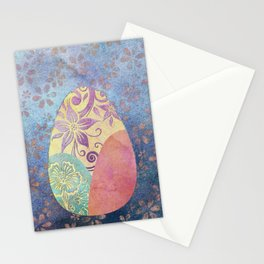 Elegant Ostara Eggs Stationery Cards