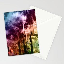 Q-City Three Stationery Cards
