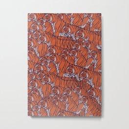 Tigers everywhere! Metal Print