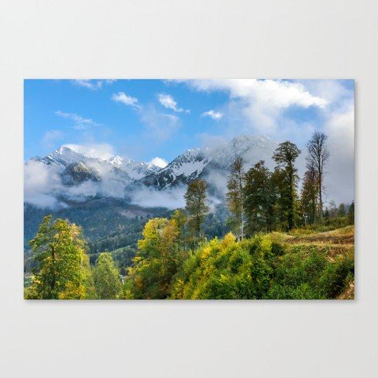 Mount Fisht Canvas Print