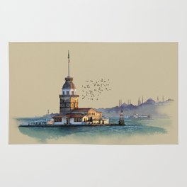 Istanbul Maiden Tower Rug