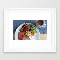 sweden Framed Art Prints featuring Sweden by Kimberly Vogel Travel Photographer