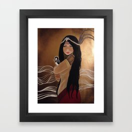 Agas: Medicine Woman Framed Art Print
