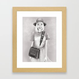 Transformator Katia Framed Art Print