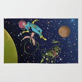 Astro Girl Rug