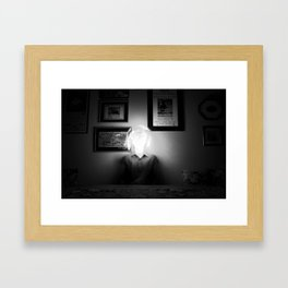 bright brain Framed Art Print